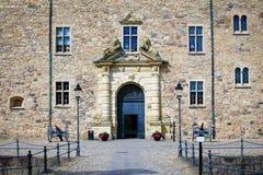 orebro Швеция narke городища замока средневековое стоковые изображения