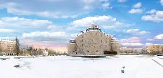 orebro Швеция narke городища замока средневековое Стоковое Изображение