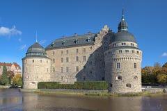 Orebro Castle, Σουηδία στοκ εικόνες