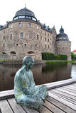 Orebro castle Stock Photo