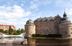 Orebro castle Royalty Free Stock Images