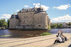 Orebro Castle, Sweden Royalty Free Stock Image
