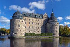 Orebro kasztel, Szwecja Obraz Stock