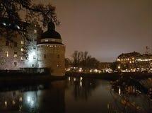 Orebro Schloss Stockbild