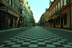 Orebro streets Stock Photography