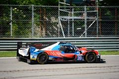 Oreca Sports Prototype at the Monza Circuit Stock Photos