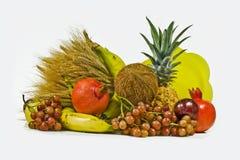 Orecchie e frutta Fotografia Stock