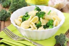 Orecchiette with broccoli Royalty Free Stock Photos