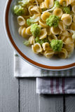 Orecchiette with Cime di Rapa Royalty Free Stock Image