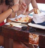 Orecchiette italiano da massa foto de stock