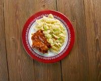 Orecchiette italien de pâtes images libres de droits