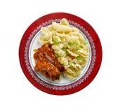 Orecchiette italien de pâtes images stock