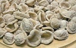 Orecchiette pasta Arkivfoto