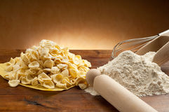 orecchiette pasta homemade Royalty Free Stock Image
