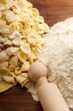 Orecchiette pasta homemade Stock Photography