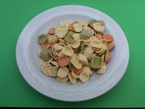 Orecchiette-Teigwaren aus Italien Stockfotografie