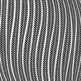 Orecchio del grano del modello che soffia nel vento illustrazione vettoriale
