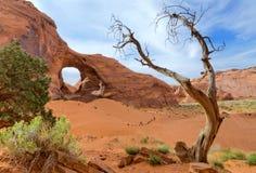 Orecchio del vento, valle del monumento Fotografia Stock Libera da Diritti