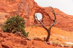Orecchio della valle del monumento del vento Fotografie Stock Libere da Diritti