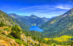 Oredon Lake - Pyrenees Mountains Royalty Free Stock Image