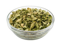 Oregano in a Glass Bowl Royalty Free Stock Photo