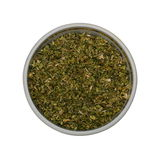 Oregano spices. Oregano from a set of 18 spices in the one style isolated on white Stock Photos