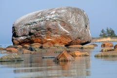 oregelbunden stenblockehalkivi Royaltyfria Bilder