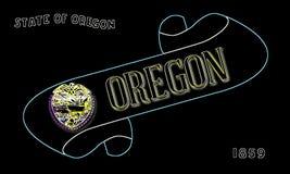 Oregon ślimacznica ilustracji
