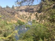 Oregon ainda molha Imagens de Stock