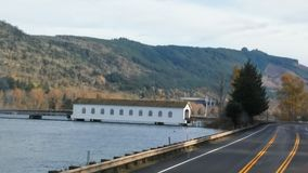 Oregon-Brücken-Haus Lizenzfreies Stockfoto