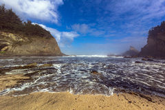 Oregon-Bucht Lizenzfreie Stockbilder