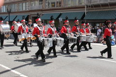 Oregon City marching band Royalty Free Stock Images
