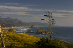 Oregon Coast. Haystack Rock From Ecola State Park In Oregon Royalty Free Stock Image
