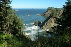 Oregon coast. From Arch Rock viewpoint Stock Photo