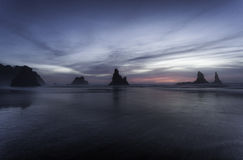 Oregon Coast Beach Stock Photo