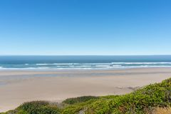 Oregon Coast beach view royalty free stock image