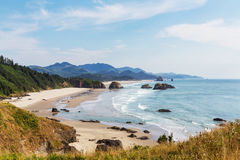 Oregon coast. Cannon Beach, Oregon Coast, USA Stock Images