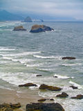 Oregon Coast from Ecola State Park Stock Image