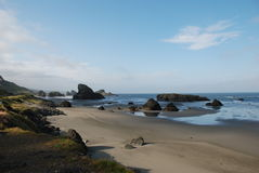 Oregon coast. Pistol River Beach  Oregon. A beautiful afternoon in the west Stock Photo
