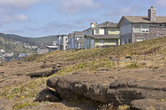 Oregon coast real estate and landscape. Stock Photo