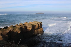Oregon Coast Rocky Landscape Royalty Free Stock Photos