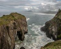 Rocky coastline of Oregon Coast Stock Images