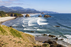 Pacific ocean along coastal Oregon Stock Images