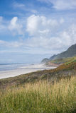 Oregon Coast spring. A lovely spring day on the Oregon coast between Florence and Yachats royalty free stock image