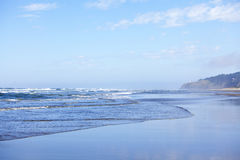 Oregon coastline, beach Royalty Free Stock Photography