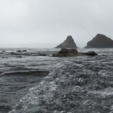 Oregon coastline Stock Images