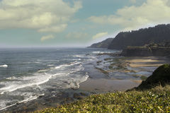 Oregon Coastline Royalty Free Stock Photo