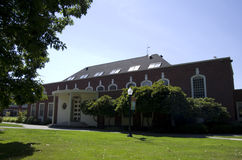 Oregon-Collegecampus Stockbild