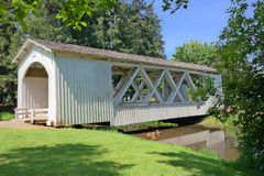 Oregon Covered Bridge Stock Photos