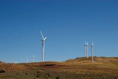 Oregon Desert Windmills Stock Photo